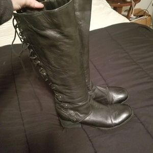 NWOB Lace up Boots